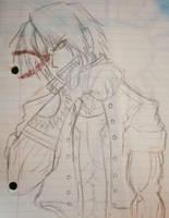 Old Draw Kusanagi kof  by camposleonardo059