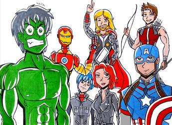 the avengers  by camposleonardo059