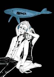 Inktober2018 Whale by Rinzeki