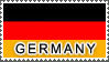 Germany Flag by StampsLikeCrazy