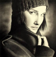 Natalie Portman by realisticartsachin