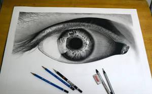 'Monochrome', In progress#1 by realisticartsachin