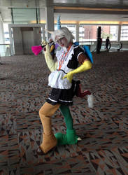 =Cosplay= Bronycon 2015 - Maid Discord by Paladin-Drakkenwolf
