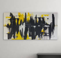 Acropolis - Original Abstract Acrylic Painting by Acrolyth