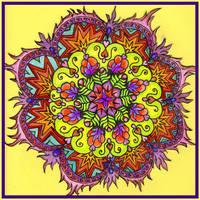Mandala by Lilbitochew