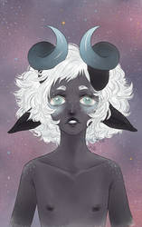 Ram of the Stars by Perikoala