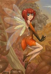 fairy autumn by dorilysse