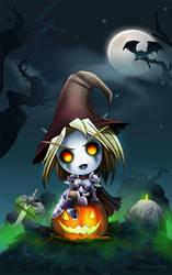 forsakens halloween by mart-art