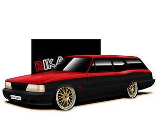 Chevy Caravan. by RikaDesigner