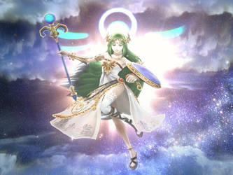 Goddess Palutena by nintenerd