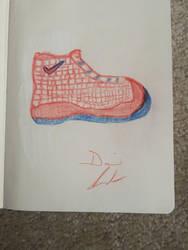 A nike shoe  by Davidord27027