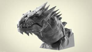 Dragon Sculpt by sergiosoares