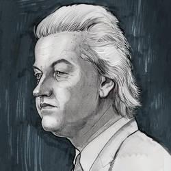 Geert Wilders dutch Willy Wonka by mattdonnici