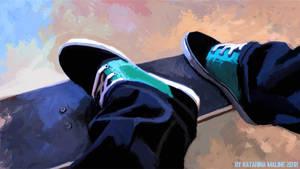 Skate by KatarinaMaline