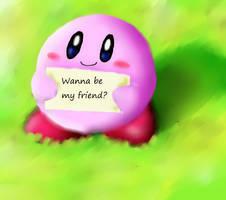 kirby wanna be my friend 2.0 by kirby-kta-tsuki