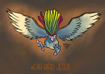 BIRD JESUS IS BACK by AxelBorsch