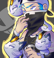 Team Meowth by Nyankyuu