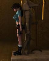 Lara Classic in the Ruins by JpauCroft