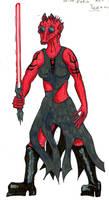 Sith Apprentice Teeanna by maikgodau666