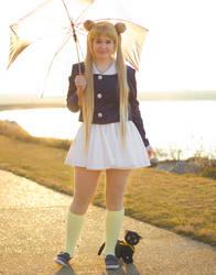Sailor Moon- Rain or Shine by Cepiapon