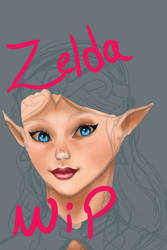 Zelda WIP by Falenya