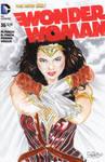 Gal Gadot Wonder Woman Sketch Cover by SSaruman