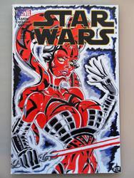 Darth Talon Star Wars sketch cover by SSaruman