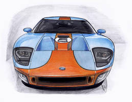 Ford GT Heritage by Celia-H