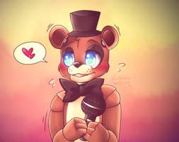 Baby Freddy! by BubbleHermit