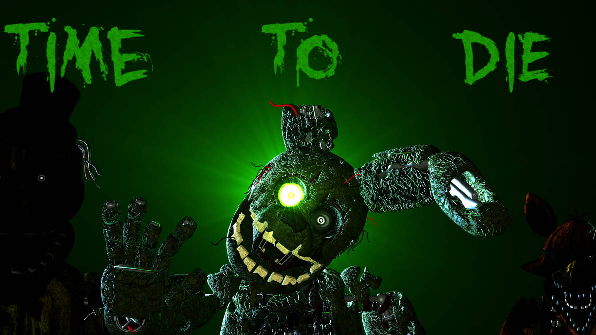 4k New Springtrap Wallpaper By Mikequeen123 On Deviantart