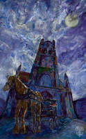 Cathedral in the moonlight by Zooey182
