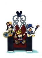 Little Kingdom Hearts by toraoh
