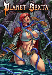 Planet Sexta: Swamp of Snakes - Cover Page by drb7364