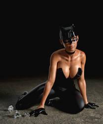 Catwoman. by Phloki