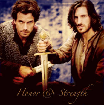 Honor and Strength by calceil