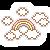 Free Icon - Rainbow + Clouds - by CutieChoco