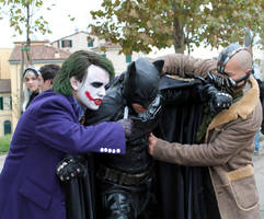 Joker (Heath Ledger) Cosplay by edWRd-Cosplay