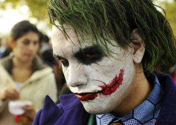Joker (Heath Ledger) Cosplay by edWRd-Cosplay