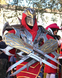 ZED - League of Legends by edWRd-Cosplay
