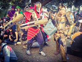 Zed and Sejuani by edWRd-Cosplay