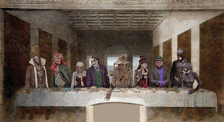 The Last Supper in Gotham by edWRd-Cosplay