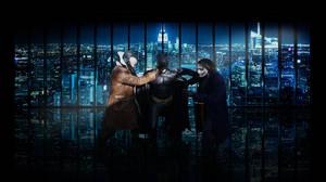 1 Batman 2 Villains by edWRd-Cosplay