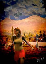 Alien Abduction by ArtOrca