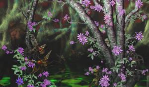 Jungle aliens by ArtOrca
