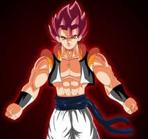 Super Saiyan God Gogeta by bocodamondo