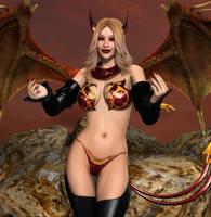 Scarletia By Furbs3d by LordAmon12