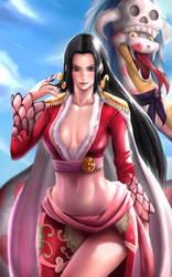 Boa Hancock by Galakushi
