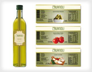Etiquetas de productos Vanoli by floripondioo