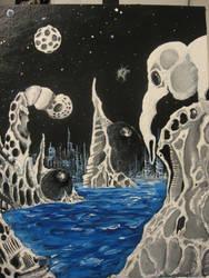 condamelephantal multiverse by Canvasharris