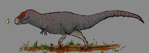 Day 4 - Tyrannosaurus rex by Thobewill